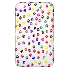 Paw Prints Background Samsung Galaxy Tab 3 (8 ) T3100 Hardshell Case