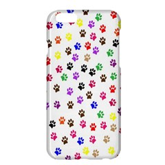 Paw Prints Background Apple Iphone 6 Plus/6s Plus Hardshell Case