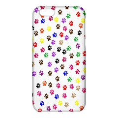 Paw Prints Background iPhone 6/6S TPU Case