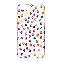 Paw Prints Background Apple Iphone 7 Plus Hardshell Case