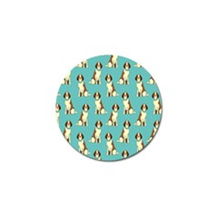 Dog Animal Pattern Golf Ball Marker (4 Pack)