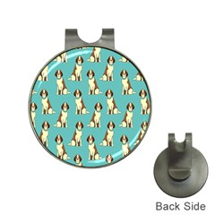 Dog Animal Pattern Hat Clips With Golf Markers