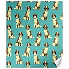 Dog Animal Pattern Canvas 20  X 24