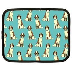 Dog Animal Pattern Netbook Case (large)
