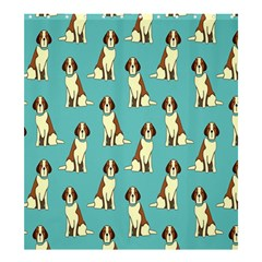 Dog Animal Pattern Shower Curtain 66  X 72  (large)