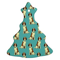 Dog Animal Pattern Christmas Tree Ornament (Two Sides)