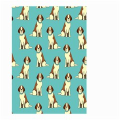 Dog Animal Pattern Small Garden Flag (two Sides)
