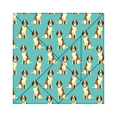 Dog Animal Pattern Acrylic Tangram Puzzle (6  X 6 )