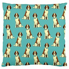 Dog Animal Pattern Large Cushion Case (one Side)
