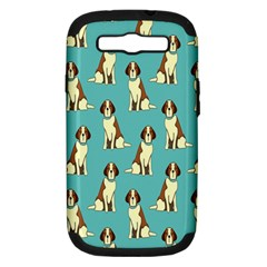 Dog Animal Pattern Samsung Galaxy S Iii Hardshell Case (pc+silicone)