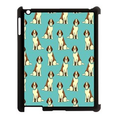 Dog Animal Pattern Apple Ipad 3/4 Case (black)