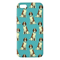 Dog Animal Pattern Apple Iphone 5 Premium Hardshell Case