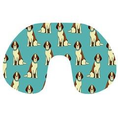 Dog Animal Pattern Travel Neck Pillows