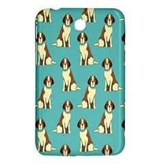 Dog Animal Pattern Samsung Galaxy Tab 3 (7 ) P3200 Hardshell Case