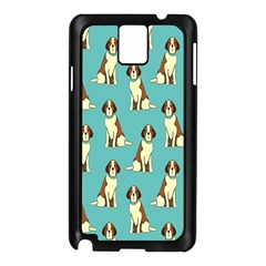 Dog Animal Pattern Samsung Galaxy Note 3 N9005 Case (black)