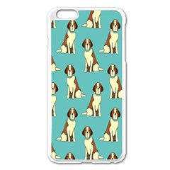Dog Animal Pattern Apple Iphone 6 Plus/6s Plus Enamel White Case
