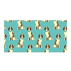 Dog Animal Pattern Satin Wrap