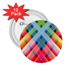 Graphics Colorful Colors Wallpaper Graphic Design 2 25  Buttons (10 Pack)