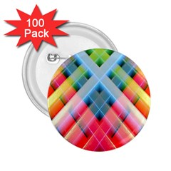 Graphics Colorful Colors Wallpaper Graphic Design 2 25  Buttons (100 Pack)