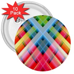 Graphics Colorful Colors Wallpaper Graphic Design 3  Buttons (10 Pack)