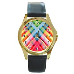 Graphics Colorful Colors Wallpaper Graphic Design Round Gold Metal Watch