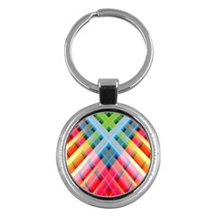 Graphics Colorful Colors Wallpaper Graphic Design Key Chains (Round)