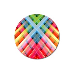 Graphics Colorful Colors Wallpaper Graphic Design Magnet 3  (Round)