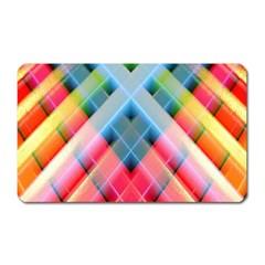 Graphics Colorful Colors Wallpaper Graphic Design Magnet (rectangular)