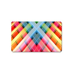 Graphics Colorful Colors Wallpaper Graphic Design Magnet (name Card)