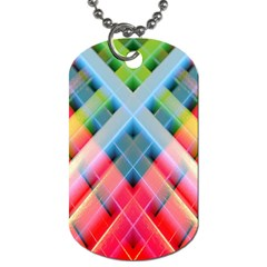 Graphics Colorful Colors Wallpaper Graphic Design Dog Tag (one Side)
