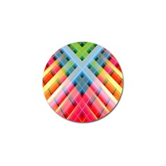 Graphics Colorful Colors Wallpaper Graphic Design Golf Ball Marker (4 Pack)