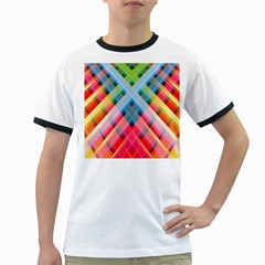 Graphics Colorful Colors Wallpaper Graphic Design Ringer T-Shirts