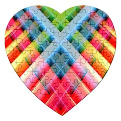 Graphics Colorful Colors Wallpaper Graphic Design Jigsaw Puzzle (heart)