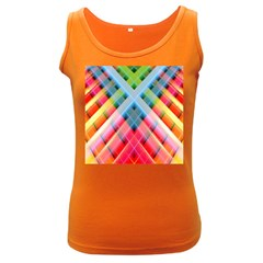 Graphics Colorful Colors Wallpaper Graphic Design Women s Dark Tank Top