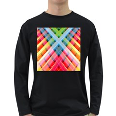 Graphics Colorful Colors Wallpaper Graphic Design Long Sleeve Dark T Shirts