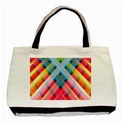 Graphics Colorful Colors Wallpaper Graphic Design Basic Tote Bag (two Sides)