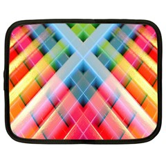Graphics Colorful Colors Wallpaper Graphic Design Netbook Case (large)