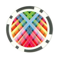 Graphics Colorful Colors Wallpaper Graphic Design Poker Chip Card Guard (10 Pack)