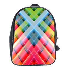Graphics Colorful Colors Wallpaper Graphic Design School Bags(large)