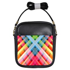 Graphics Colorful Colors Wallpaper Graphic Design Girls Sling Bags