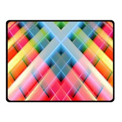 Graphics Colorful Colors Wallpaper Graphic Design Fleece Blanket (Small)