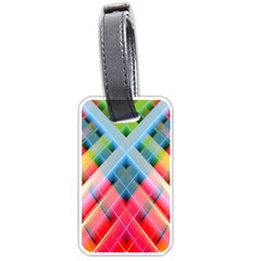 Graphics Colorful Colors Wallpaper Graphic Design Luggage Tags (one Side)
