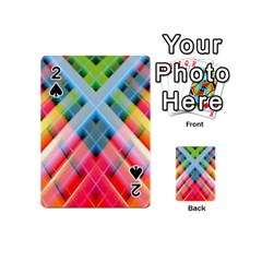 Graphics Colorful Colors Wallpaper Graphic Design Playing Cards 54 (Mini)