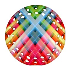 Graphics Colorful Colors Wallpaper Graphic Design Round Filigree Ornament (two Sides)