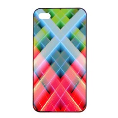 Graphics Colorful Colors Wallpaper Graphic Design Apple Iphone 4/4s Seamless Case (black)