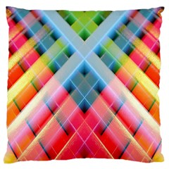 Graphics Colorful Colors Wallpaper Graphic Design Large Cushion Case (two Sides)