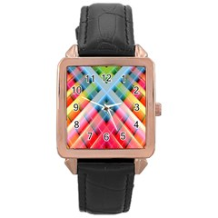 Graphics Colorful Colors Wallpaper Graphic Design Rose Gold Leather Watch