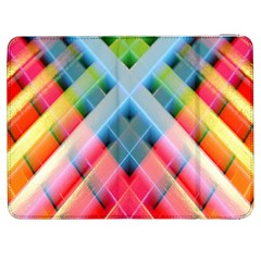 Graphics Colorful Colors Wallpaper Graphic Design Samsung Galaxy Tab 7  P1000 Flip Case
