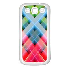 Graphics Colorful Colors Wallpaper Graphic Design Samsung Galaxy S3 Back Case (white)