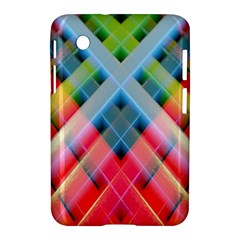 Graphics Colorful Colors Wallpaper Graphic Design Samsung Galaxy Tab 2 (7 ) P3100 Hardshell Case